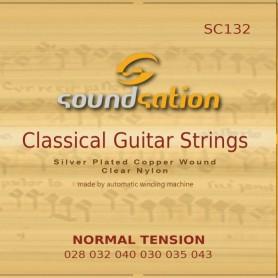 Muta corde per CHITARRA classica - TENSIONE NORMALE