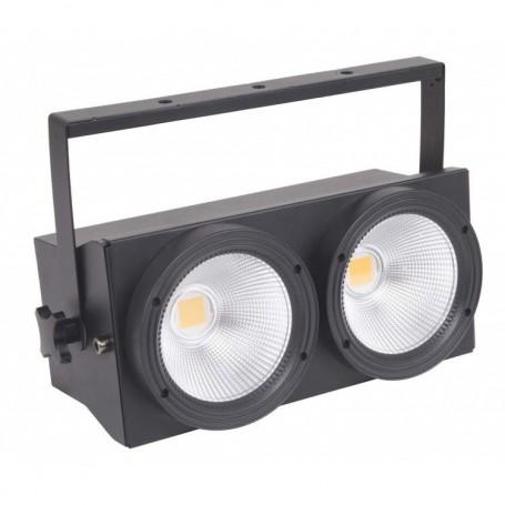 BLINDER LED 2X100W DMX ACCECANTI ACCECATORE