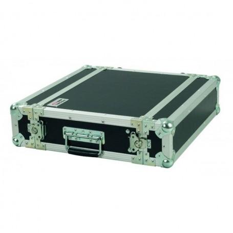 FLIGHT CASE NERO 2 UNITà RACK PROEL CR102BLKM 33CM