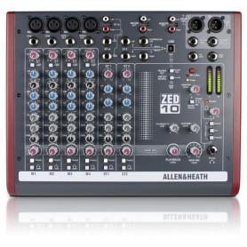 Mixer Allen Heath ZED 10 A&H Zed 6 canali (4mono + 2 stereo)
