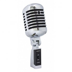 Microfono Dinamico cardioide vintage old style retrò anni 60 swing