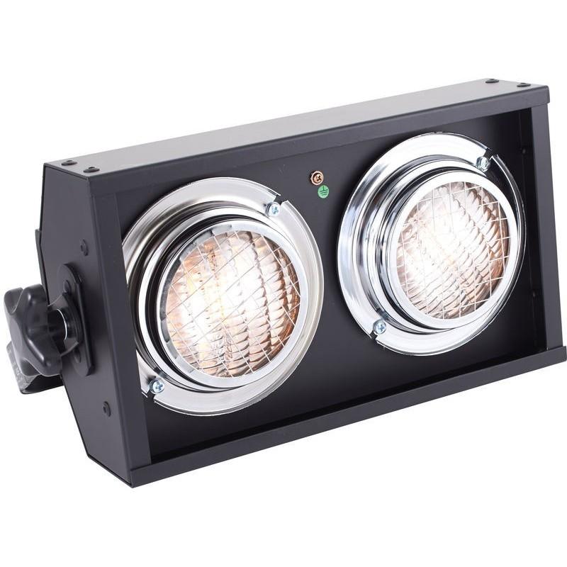 Blinder DMX 2 Lampade 650w con dimmer incorporato