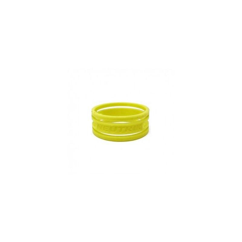 """Anello colorato o-ring per connettori NEUTRIK serie XX """"XX"""", color GIALLO"""