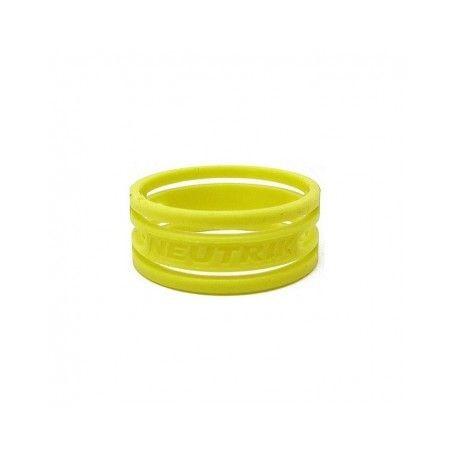 Anello colorato o-ring per connettori NEUTRIK serie XX, color GIALLO