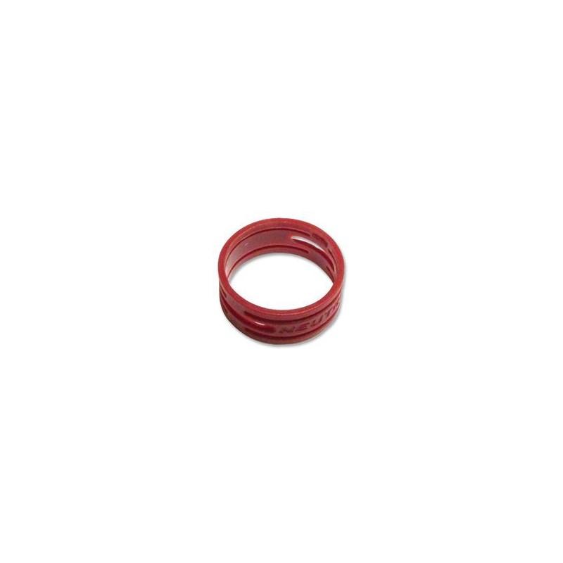 """Anello colorato o-ring per connettori NEUTRIK serie XX """"XX"""", color ROSSO"""