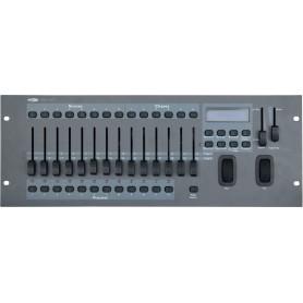 Mixer luci Showtec SM 16/2 Gestisce 12 motorizzati fino a 32canali cad1 consolle DMX