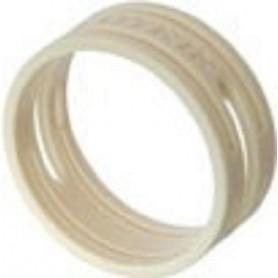 Anello colorato o-ring per connettori NEUTRIK serie XX, color BIANCO