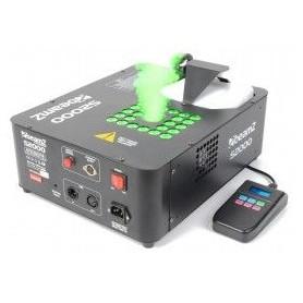 Smoke Machine 2000w verticale o orizzontale con 24 led da 3W DMX effetto fiamme