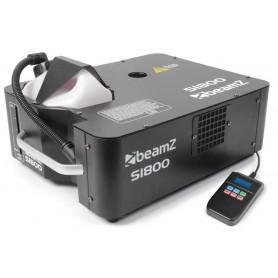 Smoke machine 1800w macchina del fumo Beamz verticale o orizzontale DMX