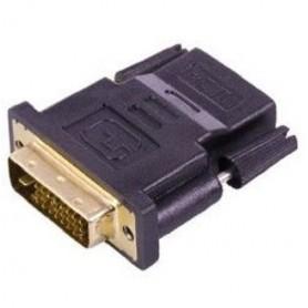 CONNETTORE ADATTATORE HDMI FEMMINA - DVI 24+1 MASCHIO