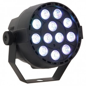 MINI Par Led 12x3w RGB DMX 3in1 con telecomando