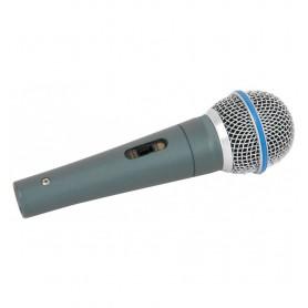 Microfono dinamico economico incluso 3 mt di cavo xlr - jack