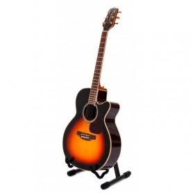 Supporto a pavimento per chitarra acustica, basso o chitarra elettrica rivestito in foam PROEL