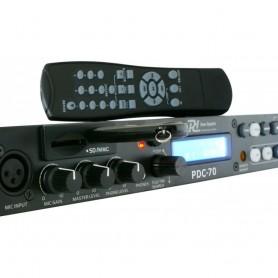 Player lerttore Rack 1U USB/SD/MP3 PDC-70