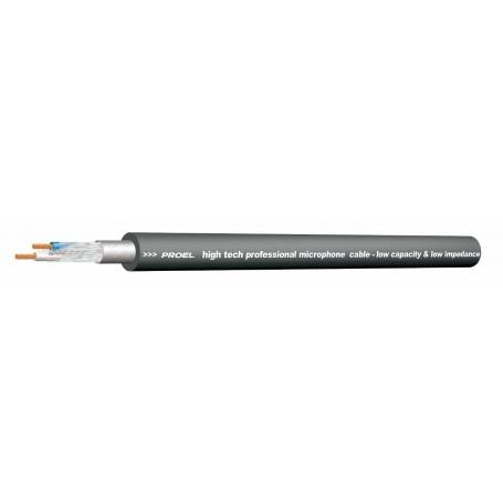 Cavo Microfonico PRO Professionale Bilanciato PROEL HPC250 Nero