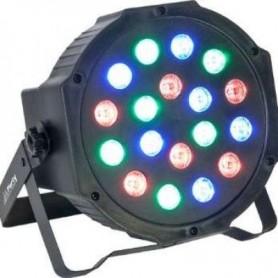 PAR LED 18x1w RGB 6R 6G 6B DMX