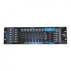MIXER LUCI DMX ECONOMICO 192 ch (12 fixture da 16ch) Soundsation