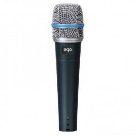 Microfono per parlato o canto senza interruttore