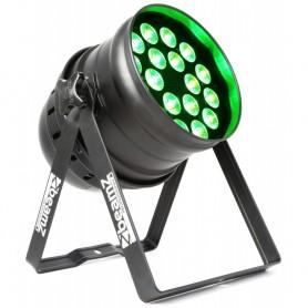 PAR LED 18X12W QUAD LED FULL COLOR RGBW 4IN1