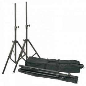 Coppia stativi per casse diffusori foro 35mm neri SKYTEC con borsa inclusa